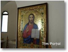 Schitul Retezat Hristos2