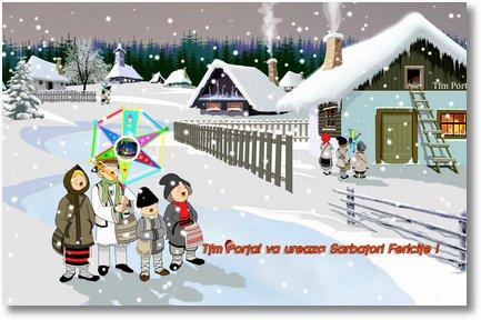 felicitare iarna 2013