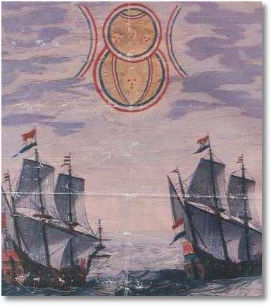 Dutch ships 1660