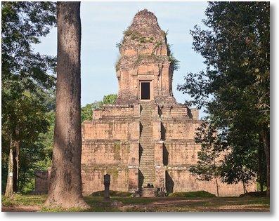 pyramid baksei-chamkrong cambodia