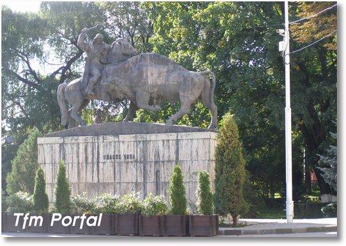 Campulung Moldovenesc statuie