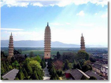 3 pagode Yunnan