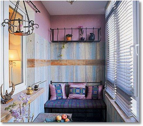 Дизайн балкону - Ідеї декору.