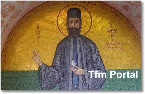 Sfantul Efrem cel Nou Nea Makri2