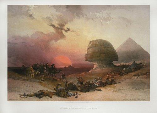 david-roberts-Sphinx