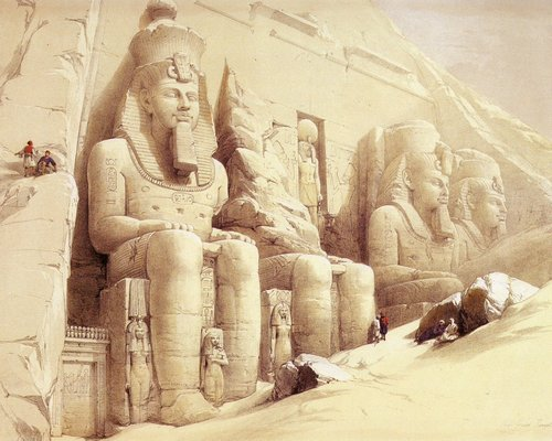 david-roberts-the-great-temple-of-abu-simbel