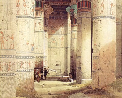 david-roberts-the-hypostyle-room-in-the-temple-of-isis-at-philae