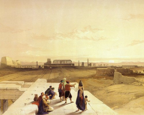david-roberts-the-ruins-of-karnak-at-sunrise