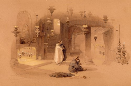 David-Roberts-The-Shrine-Of-The-Holy-Nativity