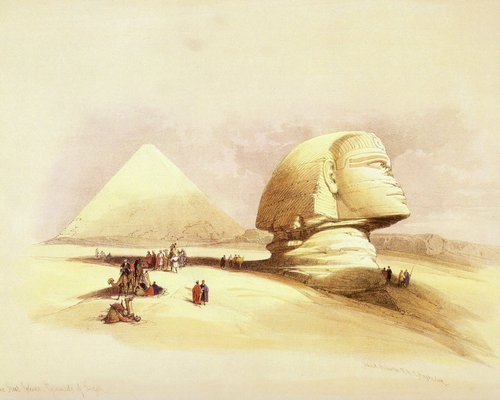 david-roberts-the-sphinx