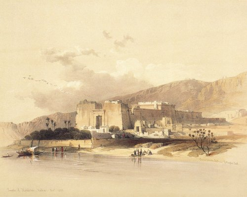 david-roberts-the-temple-of-kalabsha