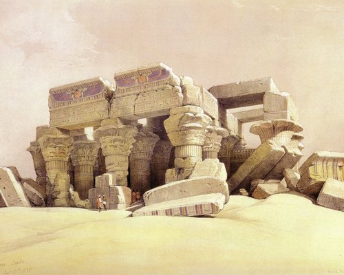 david-roberts-the-temple-of-kom-ombo