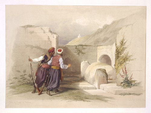 david-roberts Tomb of Joseph