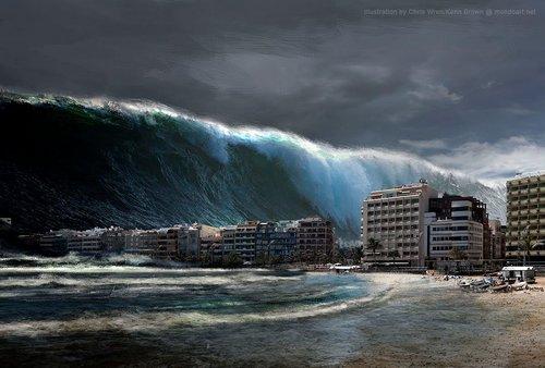 plates tsunami