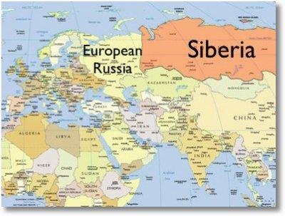 Siberia Harta Harta