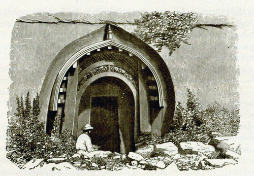 barbar Lomas Rishi Cave 1880